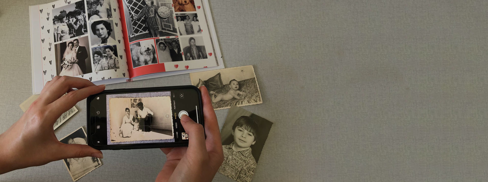 צילום ספר תמונות